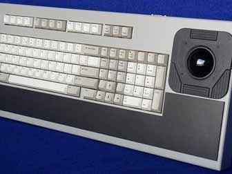 Cortron Model 100 Keyboard 2 inch DuraTrackball  Non-Backlit Table Top Enclosure