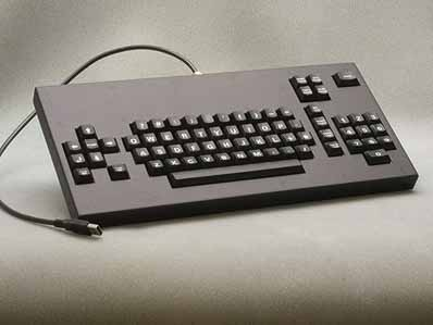 Cortron Model CUSTOM-KB Keyboard No Pointing Device  Backlit Table Top Enclosure