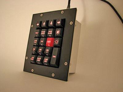 Cortron Model KP19 Keypad No Pointing Dev  Backlit Panel Mount Enclosure Function Keypad.