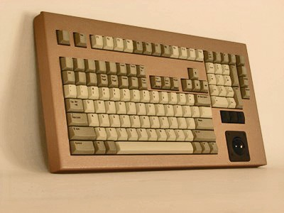 Cortron Model 121 Keyboard T14  Non-Backlit Table Top Enclosure Special color case.
