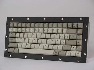 Cortron Model 80 Keyboard No Pointing Dev  Non-Backlit Panel Mount Enclosure Airborne