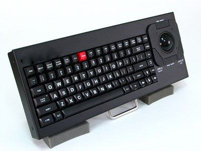Cortron Model 80 Keyboard T20D  Backlit Table Top Enclosure Rated for Safety of Life at Sea SOLAS IEC60945