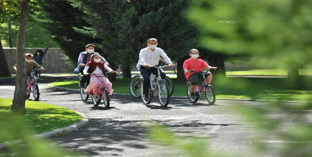 Balcı, Altındağlı Çocuklarla Bisiklet Sürdü