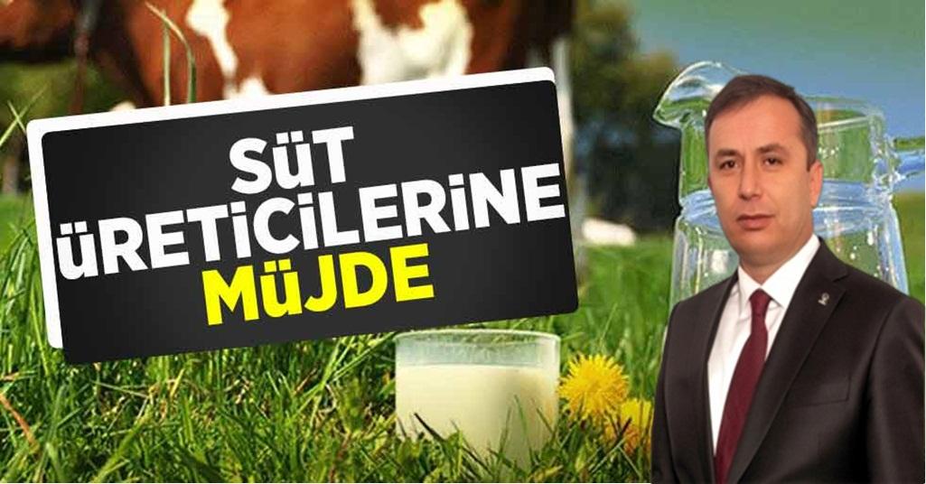 Ceylan' dan, Süt Üreticilerine Müjde!