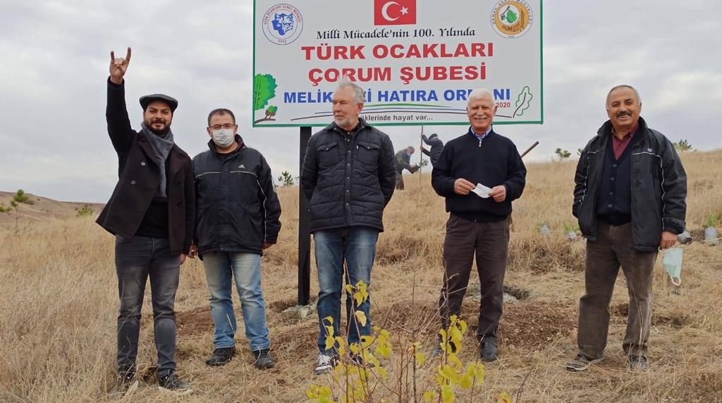Türk Ocaklarından Hatıra Ormanı