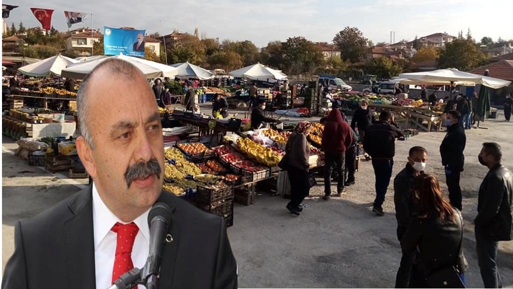 Ortaköy Pazar Alanı Açıldı
