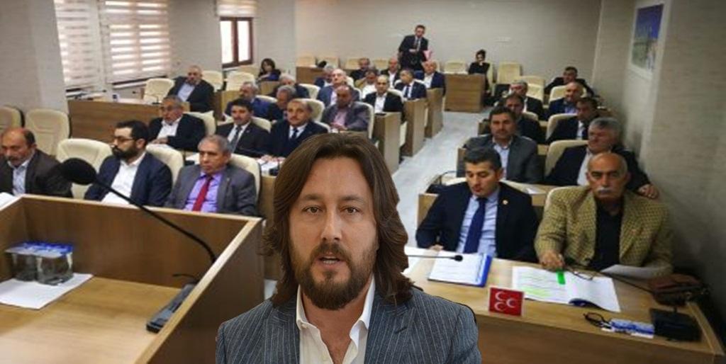 Özcan'dan, İl Genel Meclisi'ne Tepki!