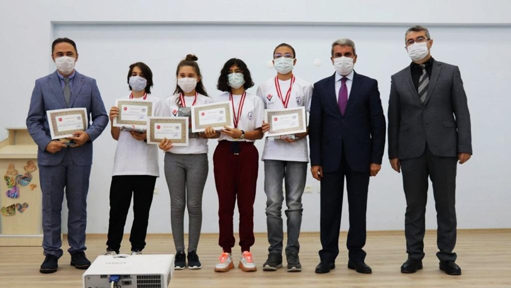 Proje Yarışmasında BİLSEM'den 3 Türkiye Derecesi
