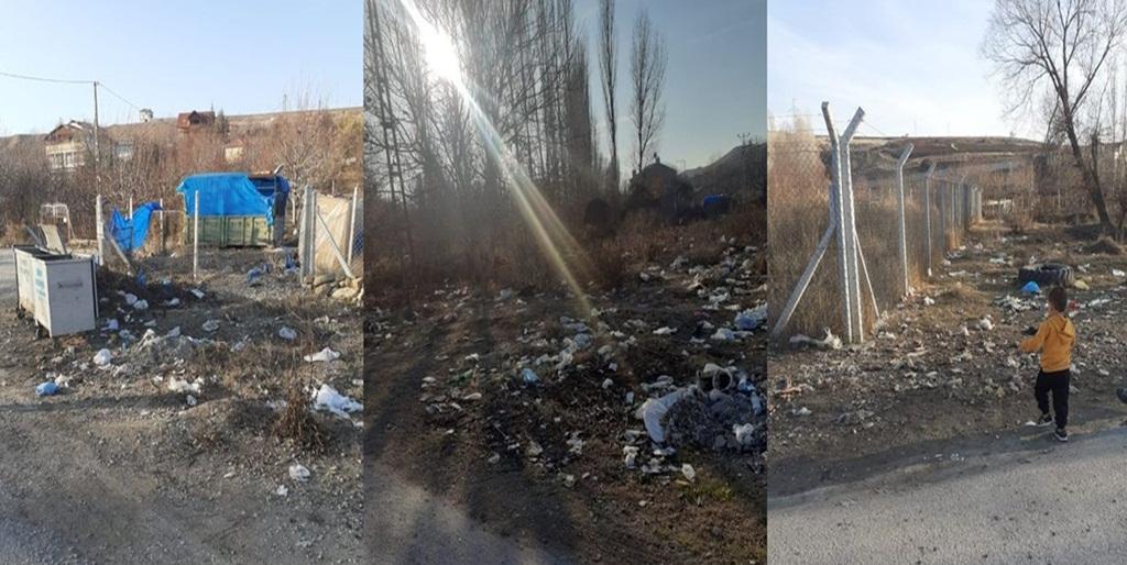 Kuruçay Köyü Toplanmayan Çöplerden Şikayetçi