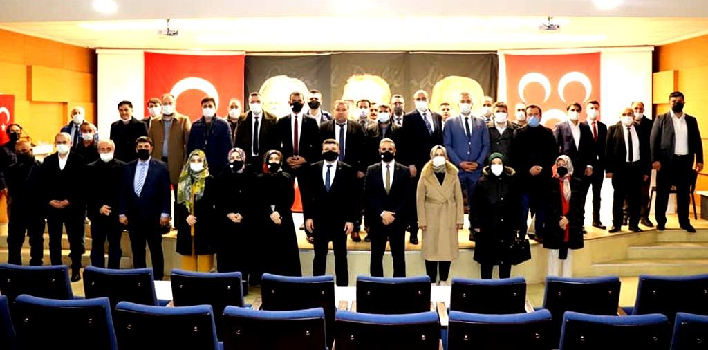 MHP 2021 Yılının İlk Toplantısını Yaptı