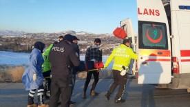 Otomobil Takla Attı Sürücüsü Yaralandı