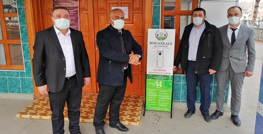Boğazkale Belediyesi Covid-19 ile Mücadeleye Devam Ediyor