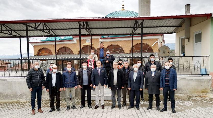 CHP'den Berk Köyü'ne Ziyaret