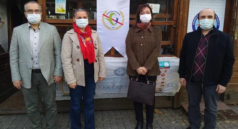 Prof. Dr. Akbıyık, Çölyak Derneği'ni Ziyaret Etti