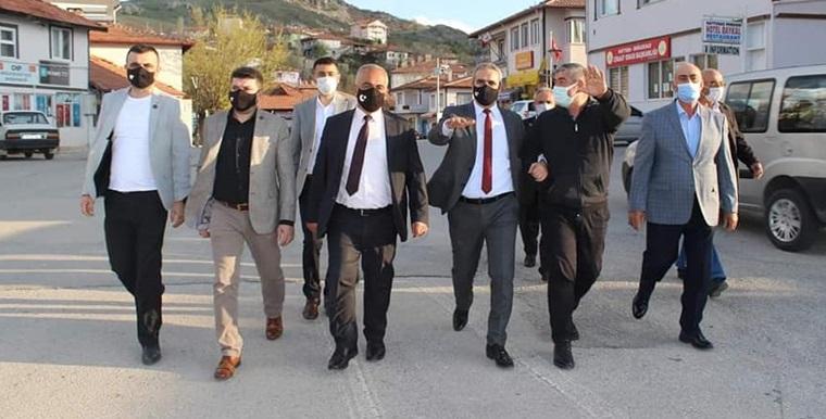 Karapıçak, Boğazkale'ye Yapılan Yatırımları İnceledi