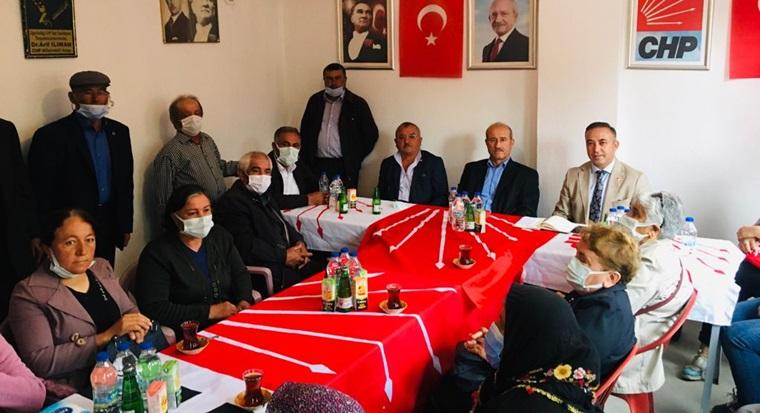 CHP Uğurludağ'da Halkın Sorunları Masaya Yatırıldı