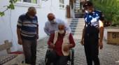 Başkan Ünlü, Engelli Vatandaşı Sevindirdi