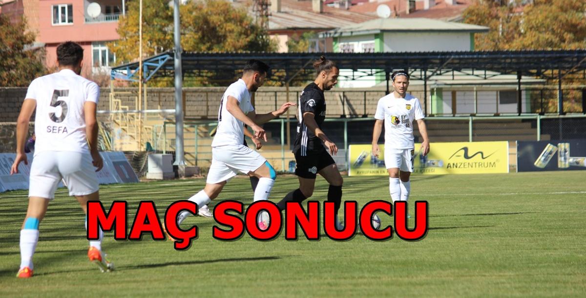 Bayburt Özel İdare Spor: 1 – Çorum FK. : 2