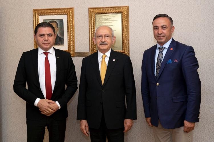 CHP ÇORUM'UN SORUNLARINI İLETTİ