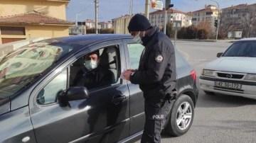 POLİSİN DENETİMLERİ DEVAM EDİYOR