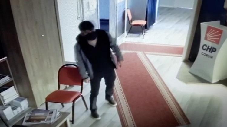 CHP İl binasında hırsızlık yaşandı!