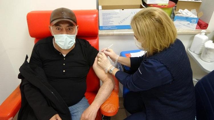 Çorum'da iftardan sonra aşı hizmeti