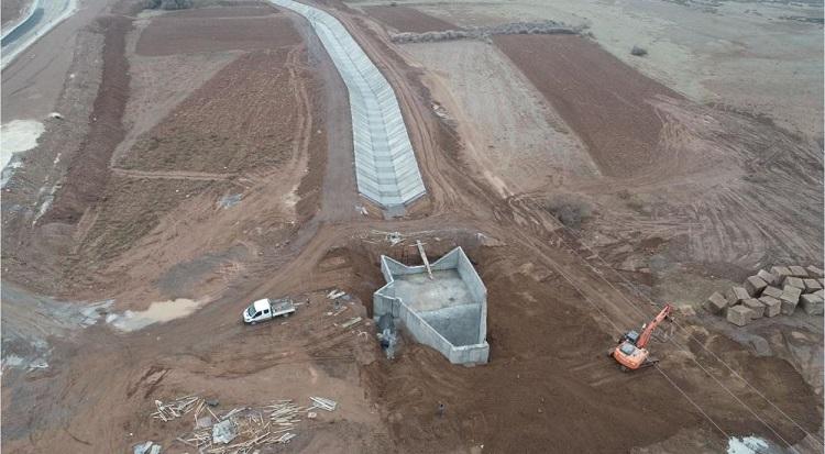 30 bin dekar alan sulamaya açıldı