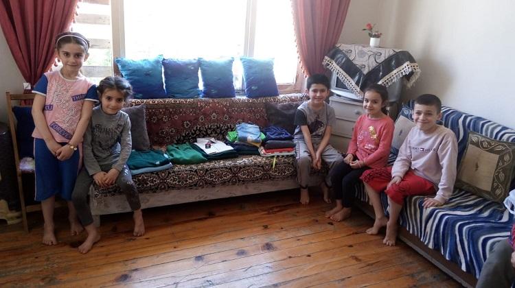 Iraklı Abdullah ve ailesini sevindirdi