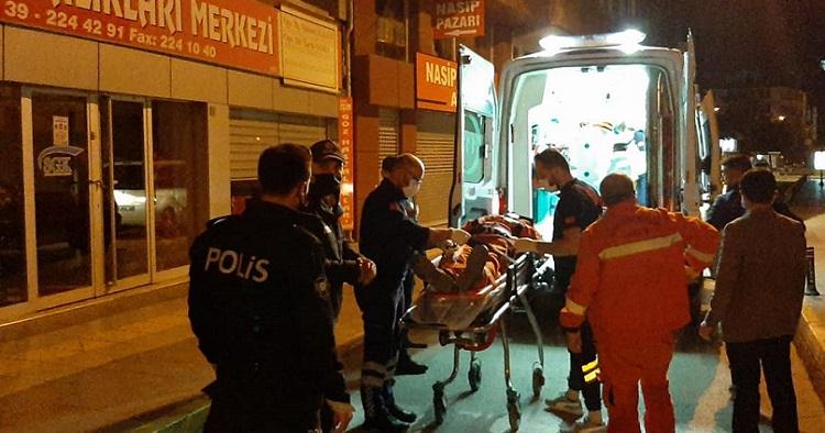 Binadan düşen işçi yaralandı!