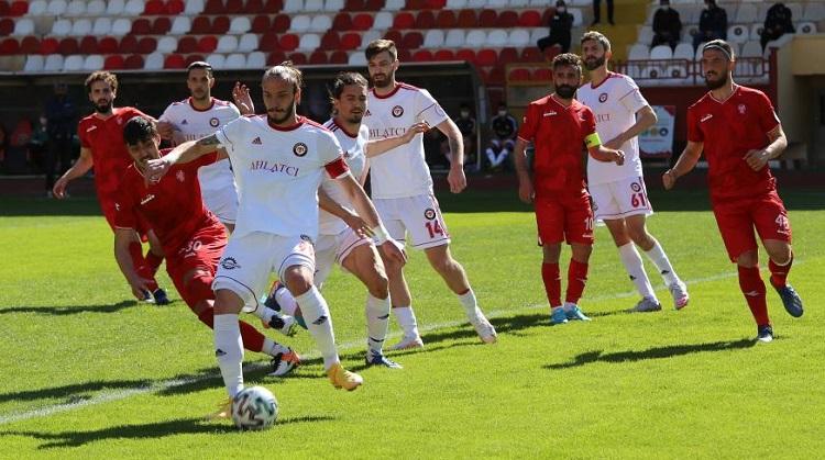 Çorum FK Gümüşhanespor'a yenildi