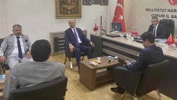 Genel Başkan'dan Çorum MHP'ye ziyaret