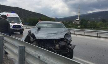 Kargı'da zincirleme trafik kazası