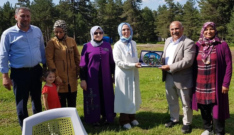 Ak kadınlar Bayat'ta toplandı