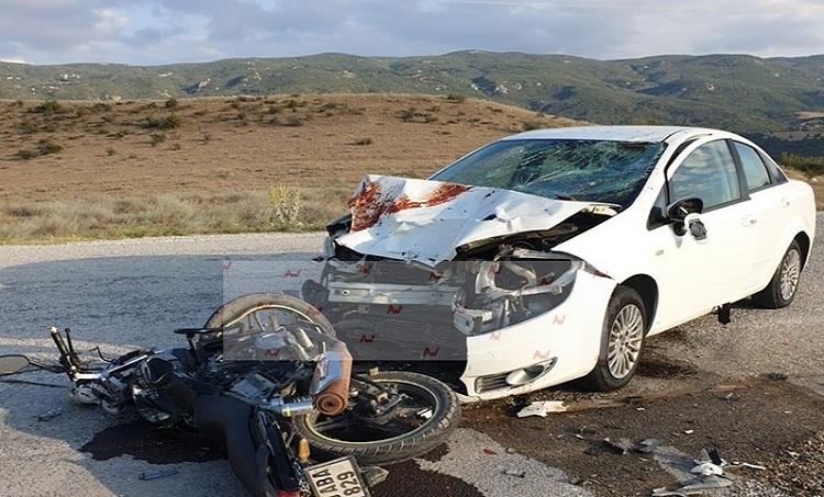 İki kuzen kazada ağır yaralandı