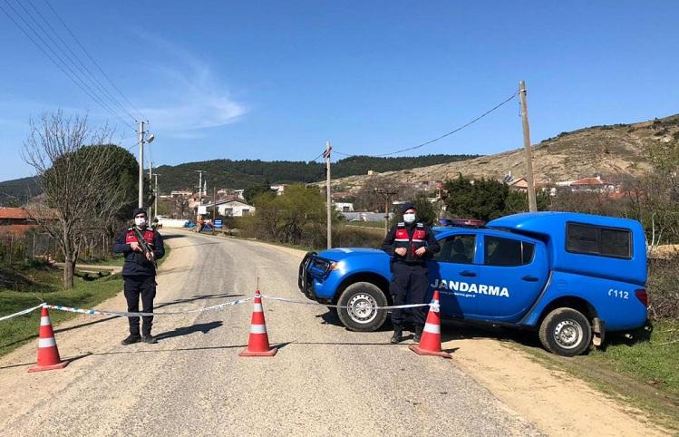 Köy 14 gün karantinaya alındı