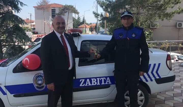 Ortaköy Belediyesine Zabıta aracı