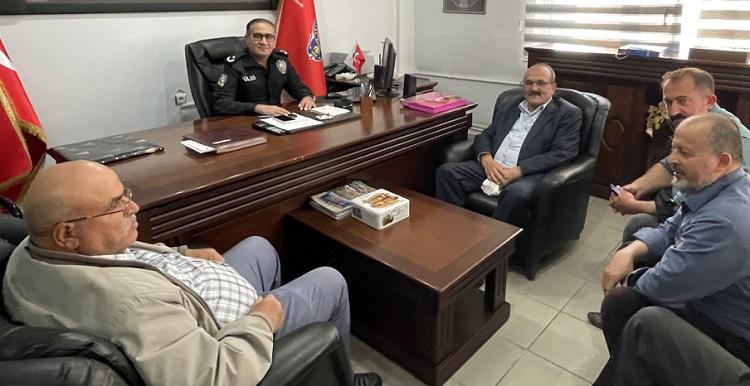 Başkan Şen'den nezaket ziyareti