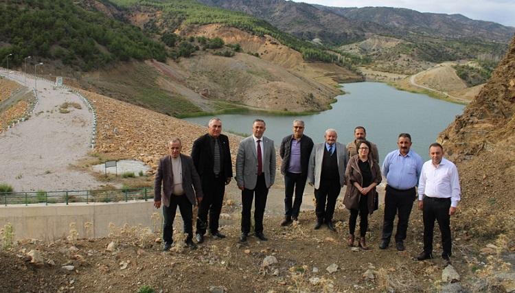 İçme suyu barajı acilen bitirilmeli