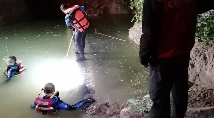 Çukura düşen çocuk kurtarılamadı