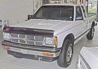 1993 Chevrolet Pickup S 10 Tahoe Maxi Cab 4x4