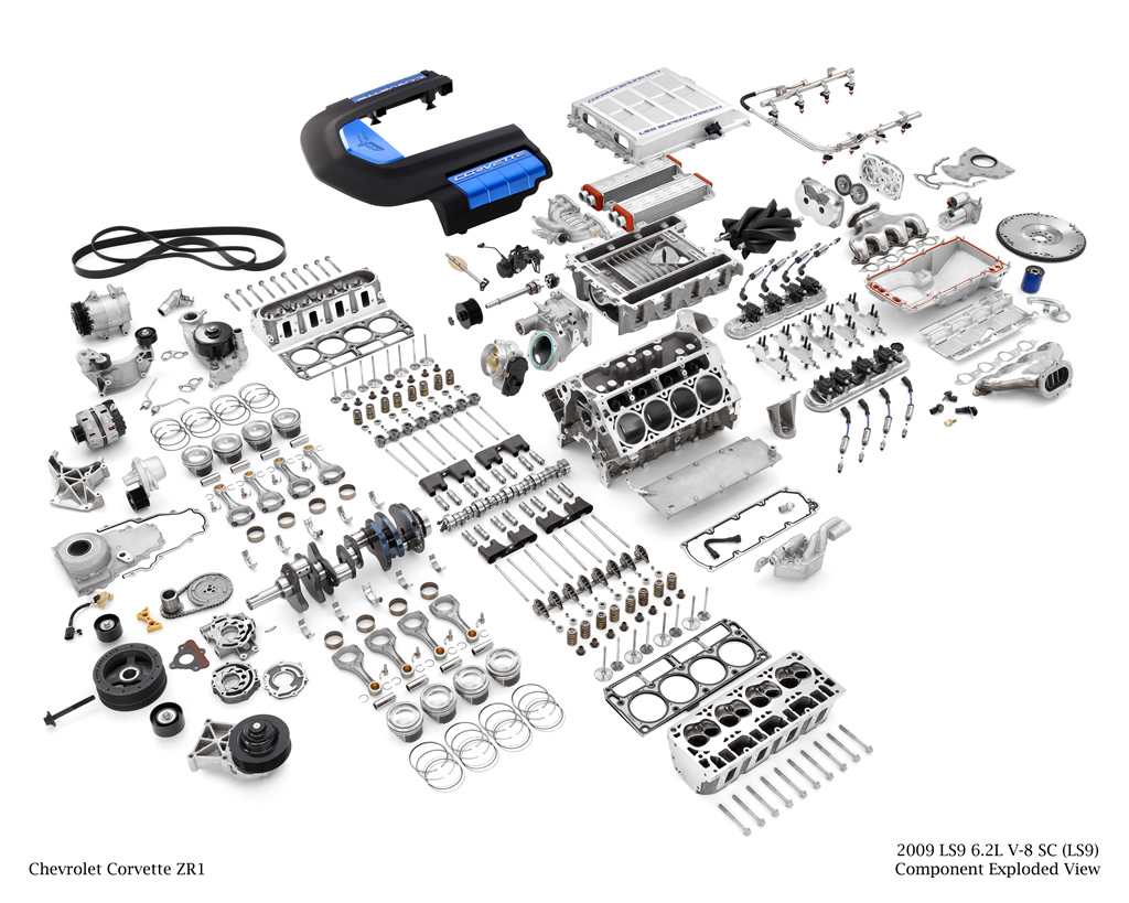 Build Your Own Corvette Z06 Ls7 Or Zr1 Ls9 Crate Engine