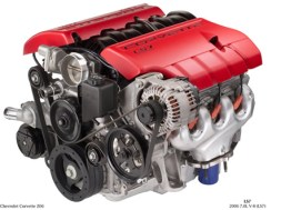 2006 Corvette Z06 LS7 Engine