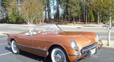 Rare 1955 Corvette