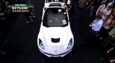 2015 Cheverlet Corvette  Raises $400k for Charity – 2014 Barrett-Jackson Las Vegas
