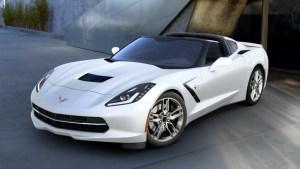 2016 Corvette in Arctic White