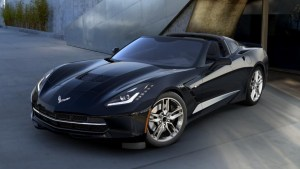 2016 Corvette in Black