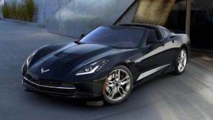 2016 Corvette in Black