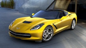 2016 Corvette in Corvette Racing Yellow