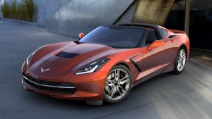 2016 Corvette in Daytona Sunrise Orange Metallic