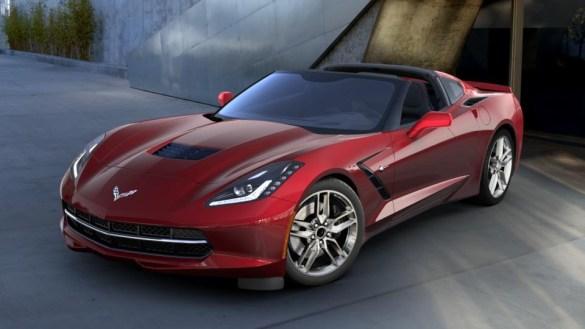 2016 Corvette in Long Beach Red Metallic